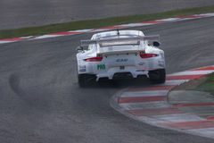 Porsche 911 RSR. Competes at the 6 hours of Silverstone in the GTEPRO series royalty free stock image