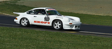 Porsche 911 1974 RSR Race Car Royalty Free Stock Photography
