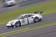 Porsche 911 RSR at Silverstone 2014. Porsche 911 RSR competes in the 6 hours of Silverstone 2014 stock photography