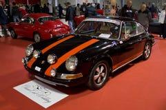 Porsche 911S in Milaan Autoclassica 2016 Stock Fotografie