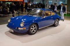 Porsche 911S Milaan Autoclassica 2016 Stock Afbeeldingen