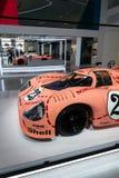 Porsche 917 Sau för 20 kupé den tävlings- bilen från 1971 ge någon ett smeknamn Ping Pig Royaltyfri Fotografi