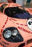 Porsche 917 Sau för 20 kupé den tävlings- bilen från 1971 ge någon ett smeknamn Ping Pig Royaltyfria Bilder