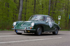 1965 Porsche 356 SC at the ADAC Wurttemberg Historic Rallye 2013 Stock Photos