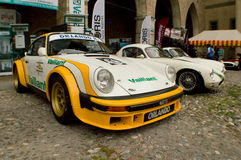 Porsche 911 SC at Bergamo Historic Grand Prix 2015 Royalty Free Stock Image