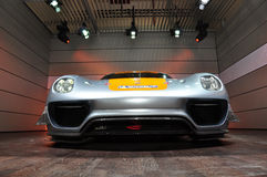 Porsche Section, Dubai Motor Show 2011. Dubai Motor Show 2011 Porsche Section stock image