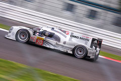 Porsche 919 at Silverstone. Porsche 919 Hybrid at the 6 Hours of Silverstone 2014 stock photography
