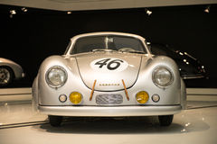 Porsche 356 SL Coupe. At Porsche Museum Stock Photo