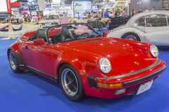 Porsche-Snelheidsmaniak 1989 auto Stock Afbeeldingen