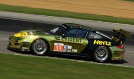 Porsche 911 som springer Royaltyfria Foton