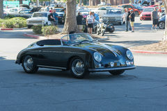 Porsche Speedster on display. Woodland Hills, USA - November 1, 2015: Porsche Speedster on display at the Supercar Sunday event Royalty Free Stock Photos