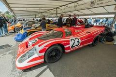 Porsche-Sportautos Stockfoto