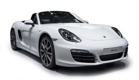 PORSCHE Sports car stock image