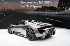 Porsche 918 Spyder Imagens de Stock