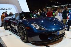 2015 Porsche Spyder Royalty-vrije Stock Fotografie