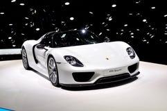 Porsche 918 Spyder Fotografia Stock