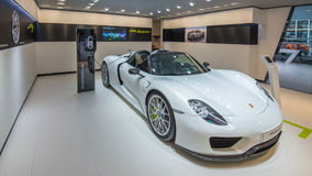 Porsche 918 Spyder Imagem de Stock