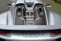 Porsche 918 Spyder Imagem de Stock Royalty Free