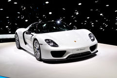 Porsche 918 Spyder. Stock Photography