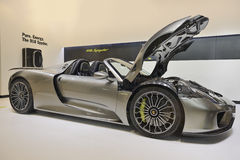Porsche 918 Spyder Stock Photos