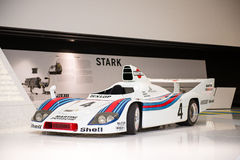Porsche 936/77 Spyder. At Porsche Museum, Stuttgart, Germany Royalty Free Stock Photo
