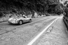 PORSCHE 550 SPYDER RS 1955 Stock Afbeeldingen