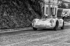PORSCHE 550 SPYDER RS 1955 Stock Afbeelding