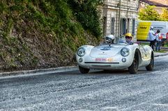 PORSCHE 550 SPYDER RS 1955 Royalty-vrije Stock Foto