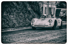 PORSCHE 550 SPYDER RS 1955 Royalty-vrije Stock Foto's