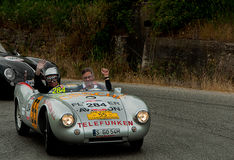 PORSCHE 550 Spyder  1500 RS 1953 Stock Photos