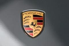 Porsche Stuttgart znak Zdjęcie Stock
