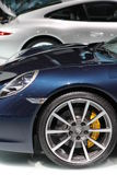 Porsche su 64rd IAA Fotografie Stock Libere da Diritti