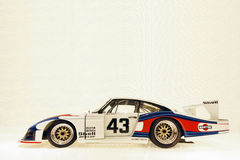 Porsche super race car Royalty Free Stock Photo