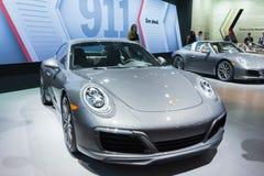 Porsche 911 sur l'affichage Photos libres de droits