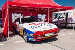 Porsche 944 tävlings- bil Arkivbild