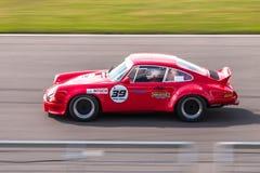 Porsche 911 tävlings- bil Royaltyfria Foton