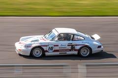 Porsche 911 tävlings- bil Royaltyfri Foto