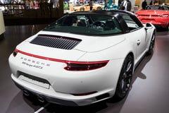 Porsche 911 Targa 4 GTS sportów samochód Zdjęcie Royalty Free