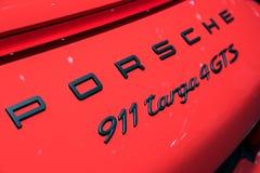 Porsche 911 Targa 4 GTS sports car Stock Images
