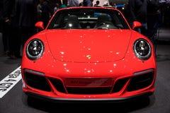 Porsche 911 Targa 4 GTS sports car Royalty Free Stock Photography