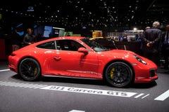 Porsche 911 Targa 4 GTS sports car Stock Photos