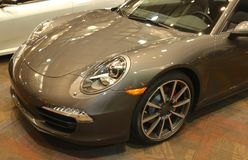 2015 Porsche 911 Targa 4S Sports Car Stock Photo
