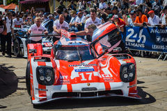 Porsche team Stock Images