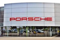 Porsche tecken Royaltyfria Bilder