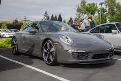 2014 Porsche 911 50th Anniversary Edition Royalty Free Stock Images