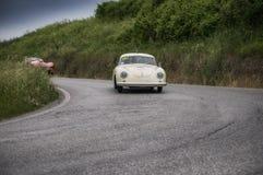 PORSCHE 356 1500 toppna Coupé 1953 Arkivfoton