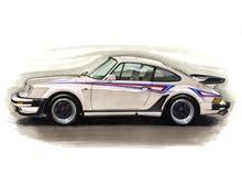 Porsche 911 Turbo illustration libre de droits