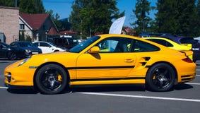 911 porsche turbo Royaltyfri Bild