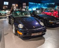 Porsche 911 3.6 Turbo 1993 at the exhibition in the King Abdullah II car museum in Amman, the capital of Jordan. Amman, Jordan, December 07, 2018 : Porsche 911 3 royalty free stock photo