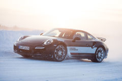 PORSCHE 911 TURBO Royalty Free Stock Photo